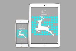 iPhone & iPad Deer Wallpaper