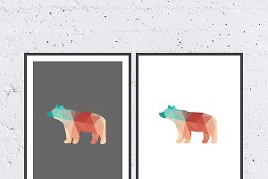 Bear - Printable Poster Art