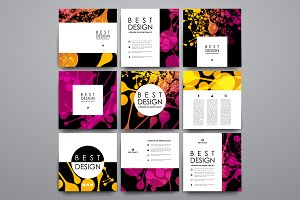 9 Abstract Flayer Templates