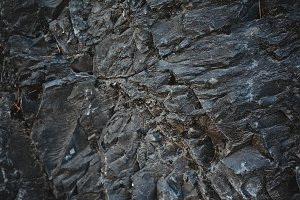 Stone Mountain Texture at Winter