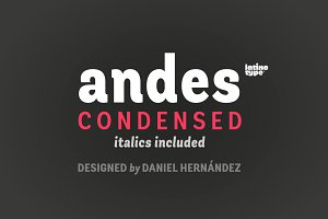 Andes Condensed Family