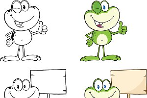 Frog Character Collection - 12