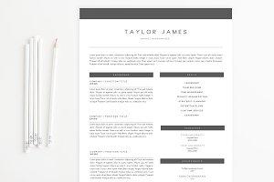 Minimalist Modern Resume Template