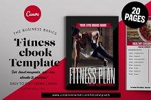 Fitness ebook Template