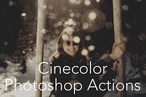 CINECOLOR SET OF PHOTOSHOP ACTIONS