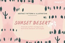 Sunset Desert Graphics by  in Graphics