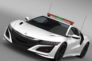 Acura NSX Safety Car 2016