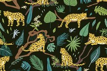 Leopards in Jungles