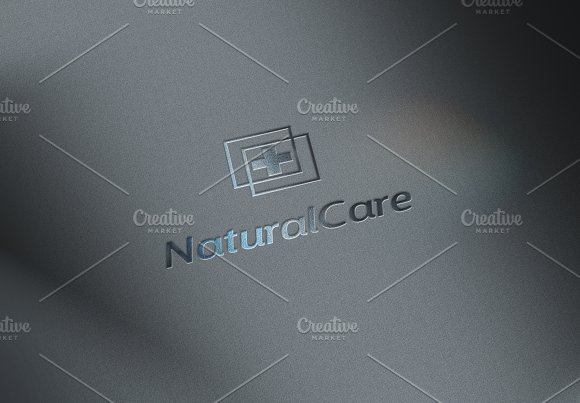Natural Care, medical logo