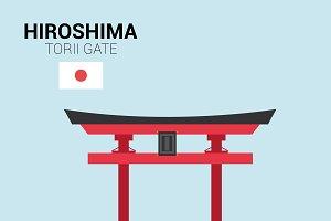 Torii Gate, Hiroshima (Japan)