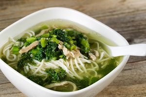 Noodle and Veggie Soup