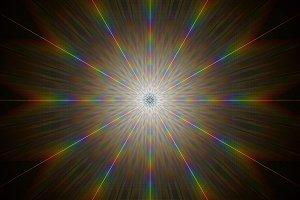 Prismatic Geometry Stock Image