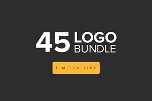 45 Logo Bundle - $15 (Limited Time)