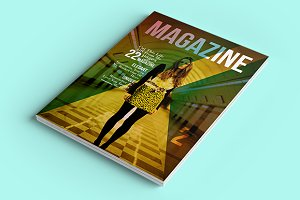 Simple Magazine InDesign