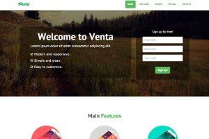 Venta Landing Page