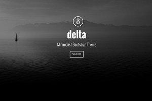 Delta Landing Page