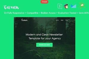 Gurun - Responsive Email Template