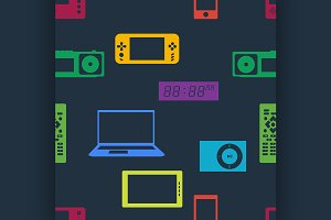 Devices and gadgets pattern