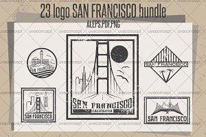 23 logo SAN FRANCISCO bundle