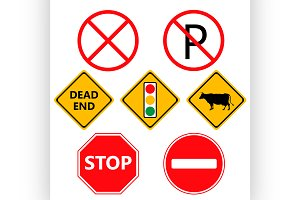 Traffic Laws labels for your product
