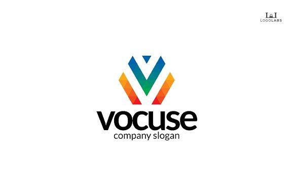 Letter V Logo - Vocuse in Logo Templates