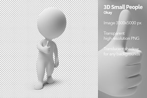 3D Small People - Okay