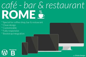 Rome Café-Bar & Restaurant WP Theme