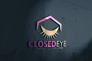 Closed Eye Logo