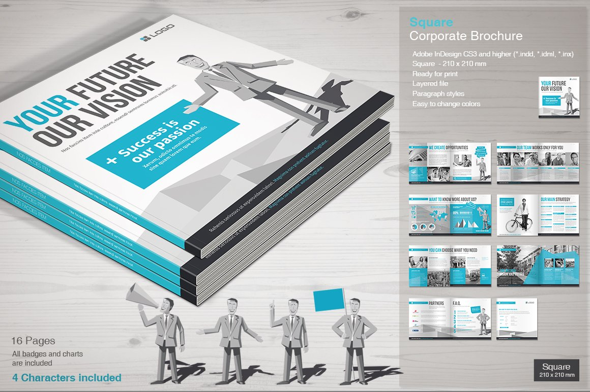 How to Design Brilliant Brochures Using Templates ~ Creative Market Blog