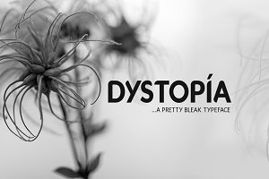 Dystopia Typeface