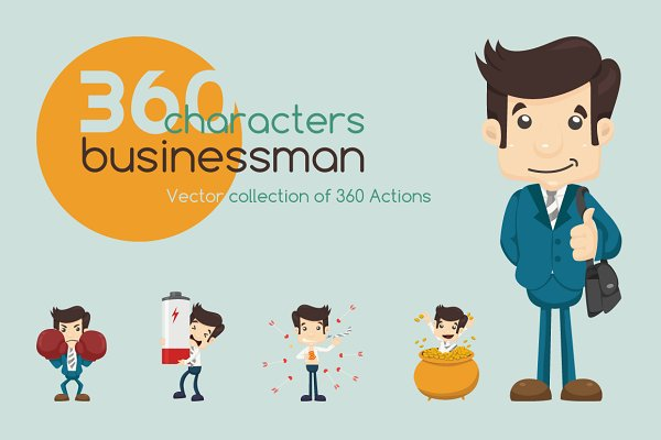 Businessman characters