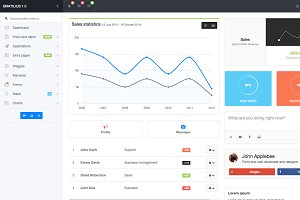 Bratilius - Bootstrap Admin Template