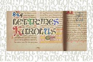 825 Lettrines Karolus OTF
