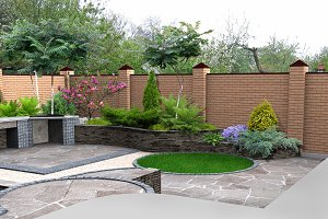 Landscaping recreational space