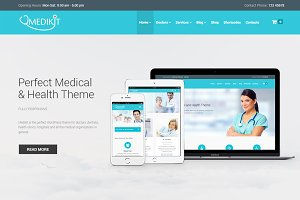 Medikit - Health & Medical WordPress