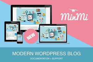 MinMi - Modern WordPress Blog