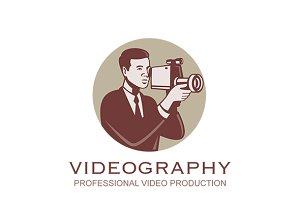 Videography Professional Video Logo