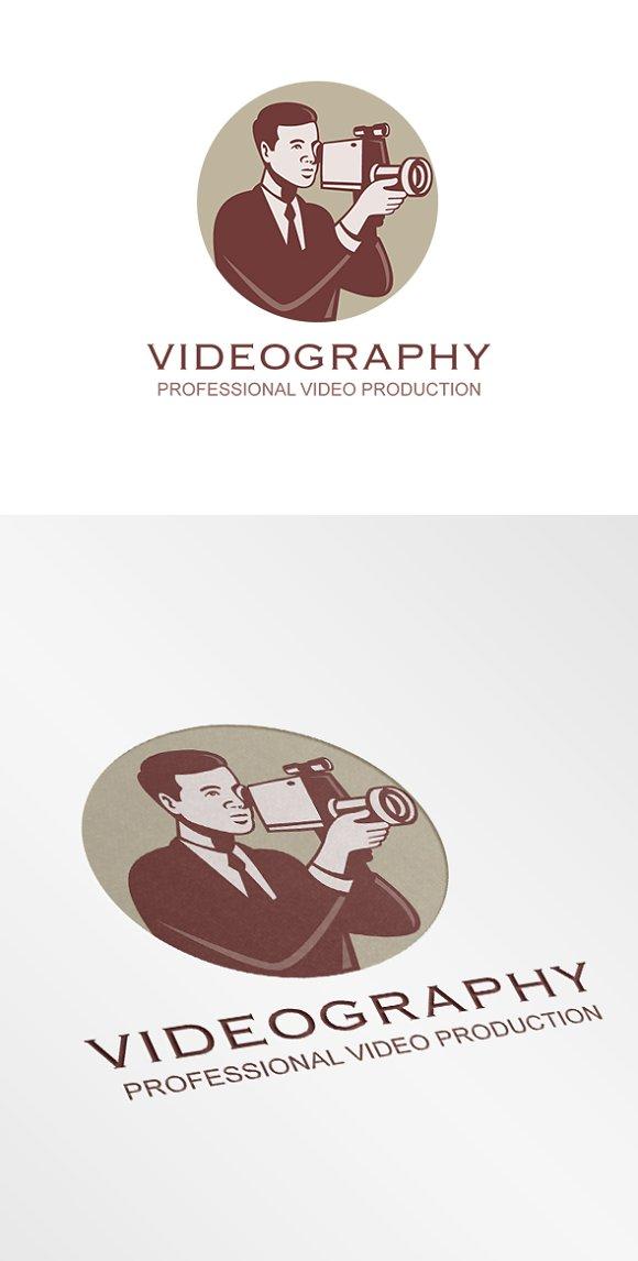 Videography Professional Video Logo