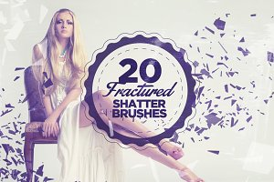 20 Fractured Shatter Brushes