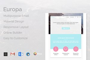 Europa -Multipurpose Email Template