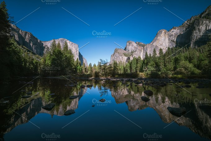 Yosemite merced river 05.jpg - Nature