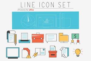 Line Icons set.