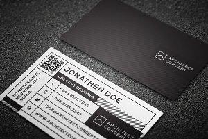 Modern studio business card #11