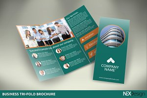 Business Tri-Fold Brochure - SB #014