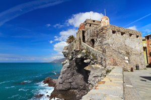 ancient castle in Camogli