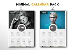 Minimal Calendar Pack