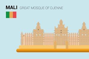 Great Mosque of Djenne, Djenne (Mali