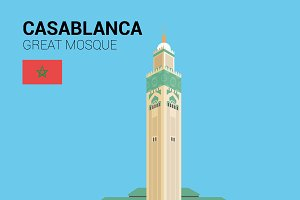 Great Mosque of Casablanca (Morocco)