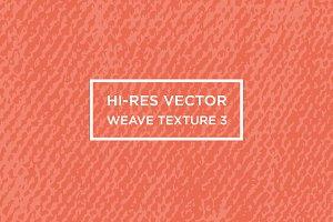 Hi-Res Vector Weave Texture #3
