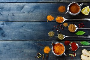Bright spices